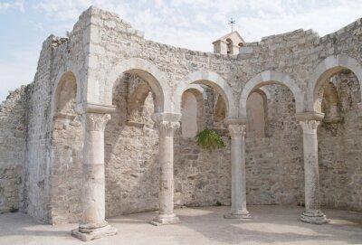 Fototapeta Chorwacja, Rab Miasto, Bazylika św Jana Ewangelisty