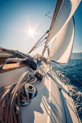 Fototapeta Chorwacja żeglowanie