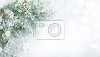 Fototapeta Christmas and New Year holidays concept