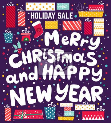 Fototapeta Christmas ilustracji