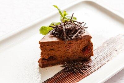 Fototapeta ciasto czekoladowe