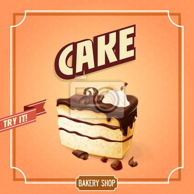 Ciasto transparent na piekarni