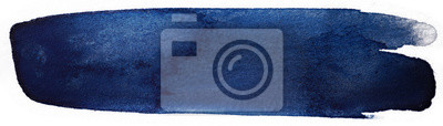 Fototapeta ciemnoniebieska plama MAKIJA dla tekstu
