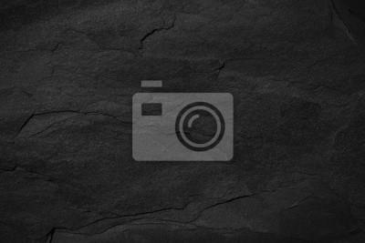 Fototapeta Ciemnoszary czarny łupkowy tło lub tekstura.