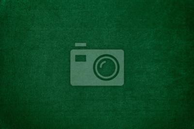 Fototapeta Ciemnozielony aksamitny tekstury tło