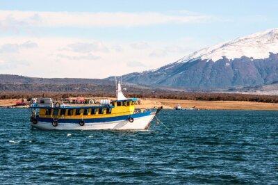 Fototapeta Cieśnina Magellana, Puerto Natales, Patagonia, Chile