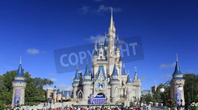 Fototapeta Cinderella Castle, Disney World Magic Kingdom, Orlando