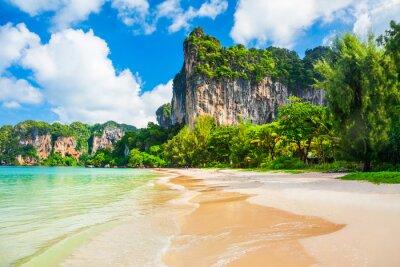 Fototapeta Clear water beach in Thailand