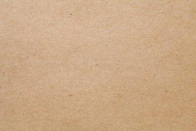 Fototapeta Close-up of brown kraft paper texture background
