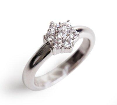 Fototapeta Close-up Z Diamond Ring