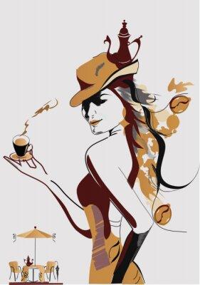 Coffee -girl