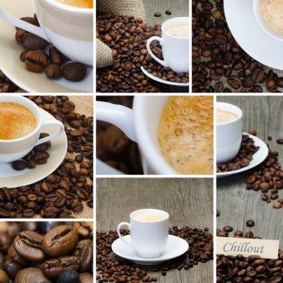 Fototapeta collage Kaffee