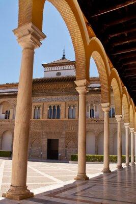 Fototapeta Colums of alcazar