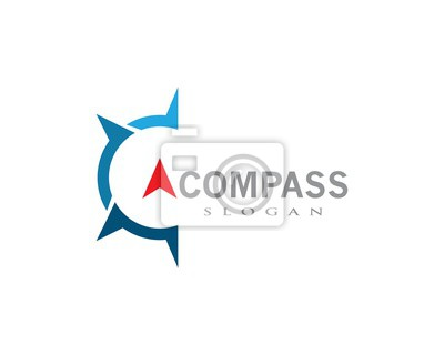 Fototapeta Compass icon