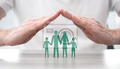 Fototapeta Concept of life insurance