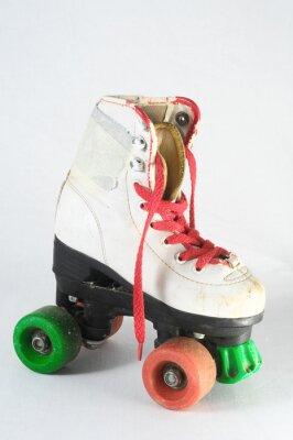 Fototapeta Consumed Roller Skate