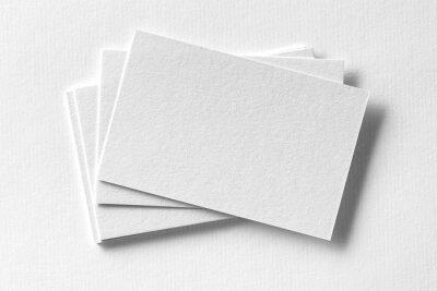 Fototapeta Corporate piśmiennicze Zestaw makieta na białym papierze z teksturą tle.
