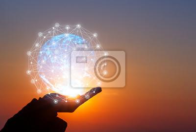 Fototapeta creative idea.Concept of idea and innovation