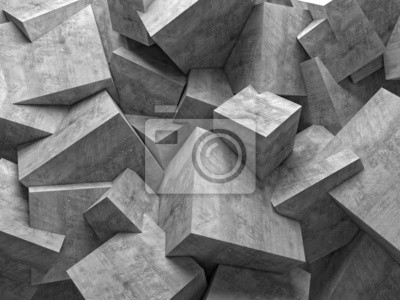 Fototapeta cubes wall