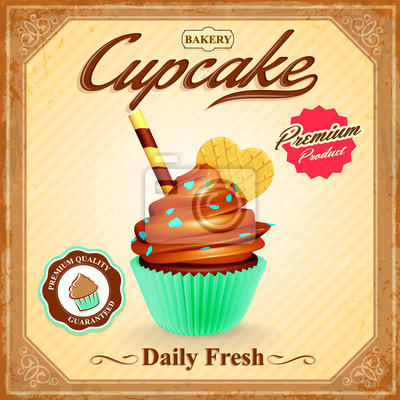 Cupcake Wektor