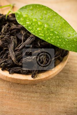 Czarna herbata.