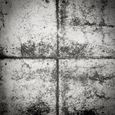 Fototapeta Czarne i białe ściany brudne tekstury betonu