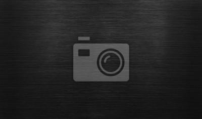 Fototapeta Czarne tło polerowane aluminium
