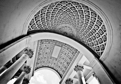 Fototapeta Czarno-białe kopuły