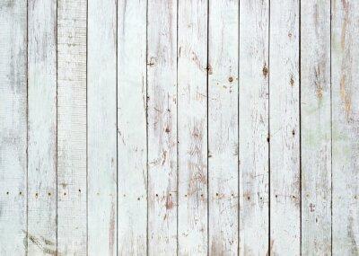 Fototapeta Czarno-białe tło z drewnianych desek