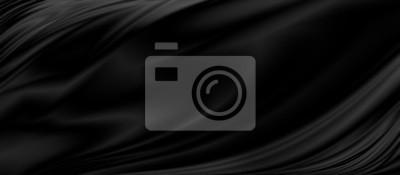Fototapeta Czarny luksusowy tkaniny tło z kopii przestrzenią