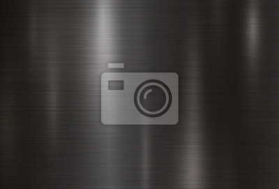 Fototapeta Czarny metalu tekstury tła ilustracji wektorowych