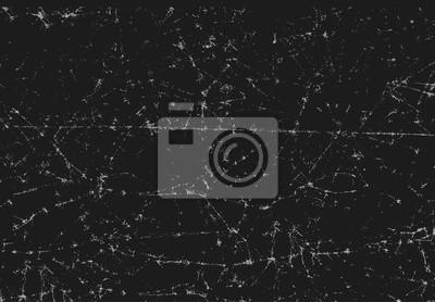 Fototapeta Czarny tekstury skanowanego złożonego popękanej i zmięty papier
