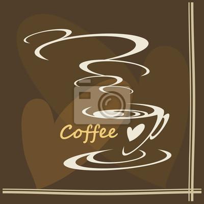 Fototapeta czas kawy
