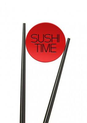 Fototapeta Czas Sushi