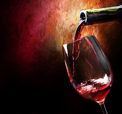 Fototapeta Czas wina we włoskiej winiarni