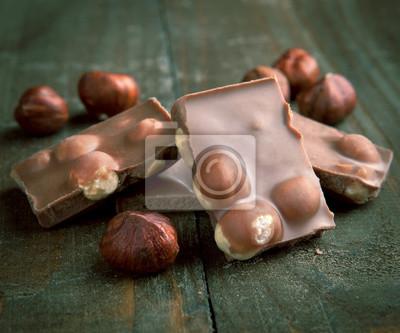 czekolada mleczna z orzechami