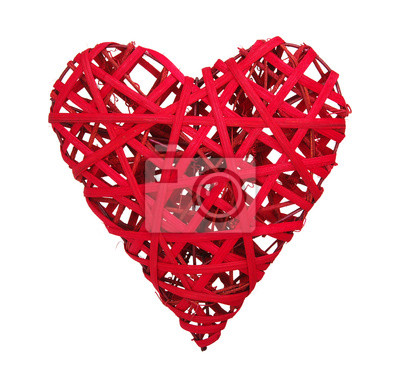 Fototapeta czerwone serce