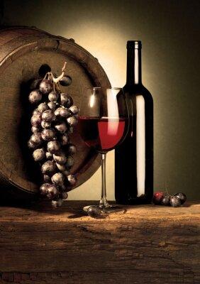 Fototapeta czerwone wino z beczki