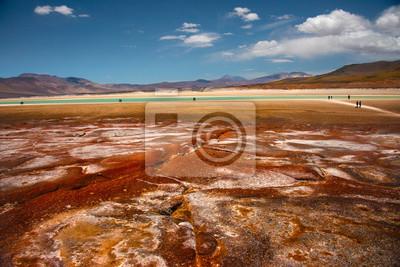 Czerwony Kamień, Pustynia Atacama, Chile