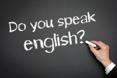 Fototapeta Czy mówisz po angielsku?