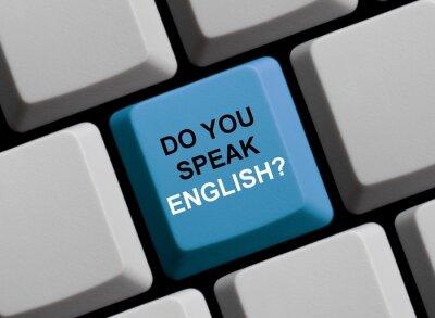 Fototapeta Czy mówisz po angielsku? Sprechen Sie polnisch?