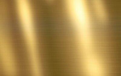 Fototapeta Czysta złocista tekstury tła ilustracja