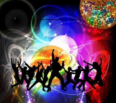 Fototapeta Dancing ludzi