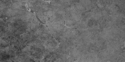 Fototapeta Dark black anthracite gray grunge polished natural stone tiles / terrace slabs / granite concrete marbled marble texture background