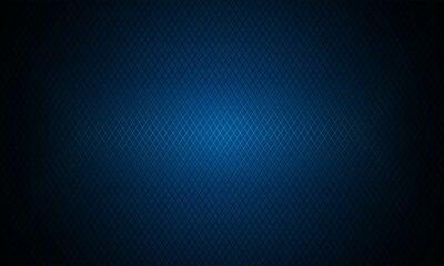 Fototapeta Dark blue background. Dark metal texture steel background. Navy blue carbon fiber texture. Web design template vector illustration EPS 10.