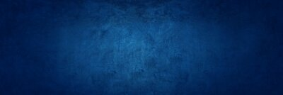 Fototapeta dark blue texture cement wall background