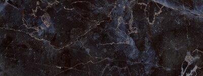 Fototapeta dark color marble texture, black marble background