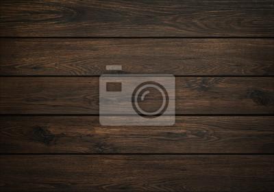 Fototapeta Dark wood background. Wooden board texture. Structure of natural plank.
