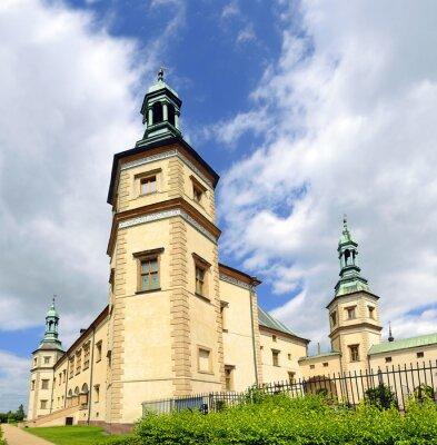 Fototapeta Dawny Pałac Biskupów w Kielcach. Jest to ważny zabytek Polsce