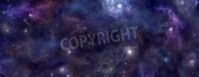 Fototapeta Deep Space strona nagłówka szerokie tło